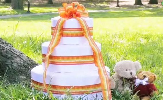 기저귀 케이크