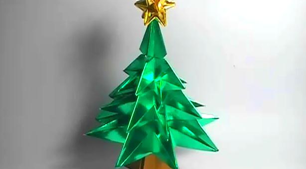 종이 크리스마스트리