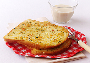 식빵으로 마늘빵만들기