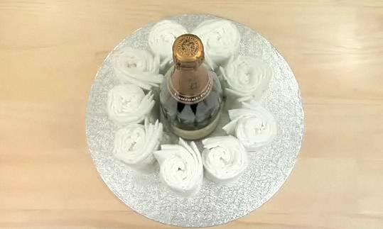 기저귀 케이크 1단