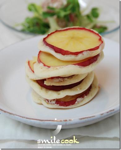 사과 핫케이크