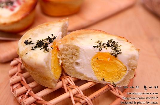 녹차 계란빵