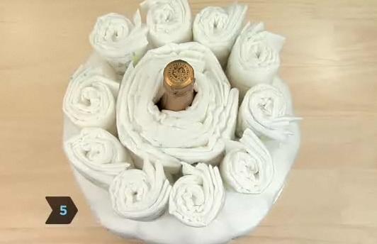 기저귀 케이크 2단